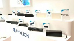 Taking part in three exhibitions around the world, Phylion's overseas business goes to a higher level.
