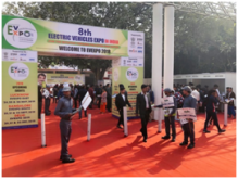 2018 India EvExpo, Phylion Leads the Lithium-ion Battery Market of LEV in India!