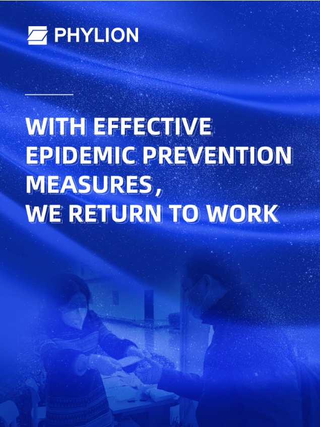 With effective epidemic prevention measures, we return to work