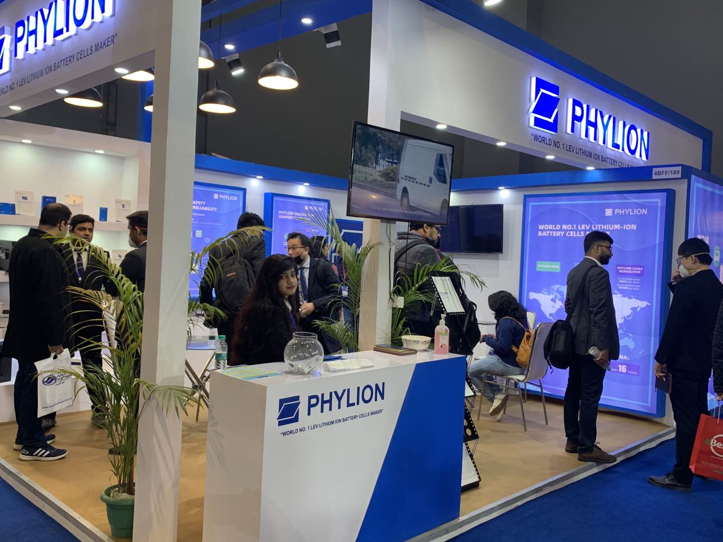 Participating Auto Expo, Phylion Contributes to India EV Journey